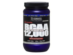 (Ultimate Nutrition) BCAA 12.000 Powder - (457 г) - (лимонад)