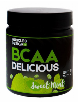 BCAA Muscle Design Lab BCAA Delicious 200 g