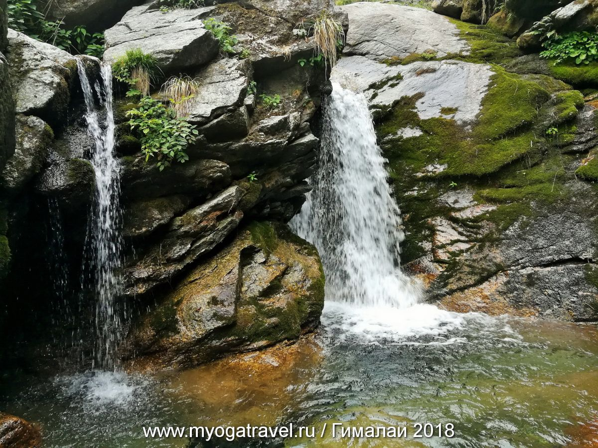 Дарамсала, водопады, йога-тур в Индию, myogatravel.ru