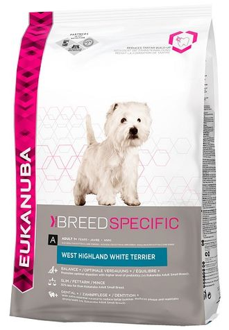 Eukanuba Dog DNA   / ЭУКАНУБА корм для собак породы ВЕСТ ХАЙЛЕНД УАЙТ ТЕРЬЕР 2,5 кг