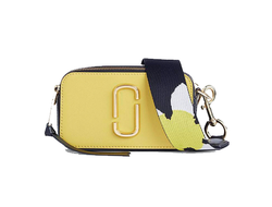 MARC JACOBS Snapshot Leather Camera Bag Sunshine/Multi