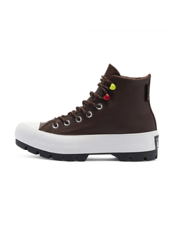 Кеды Converse Chuck Taylor All Star Gore-Tex Lugged Winter High Top коричневые