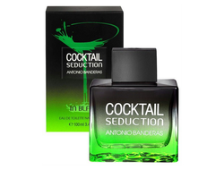 Antonio Banderas Cocktail Seduction in Black for Men