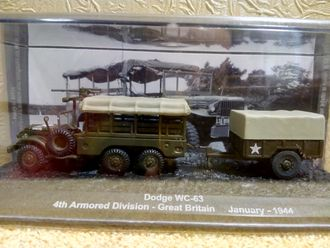 Dodge WC-63 4th Armored Division - Great Britain (January 1944)