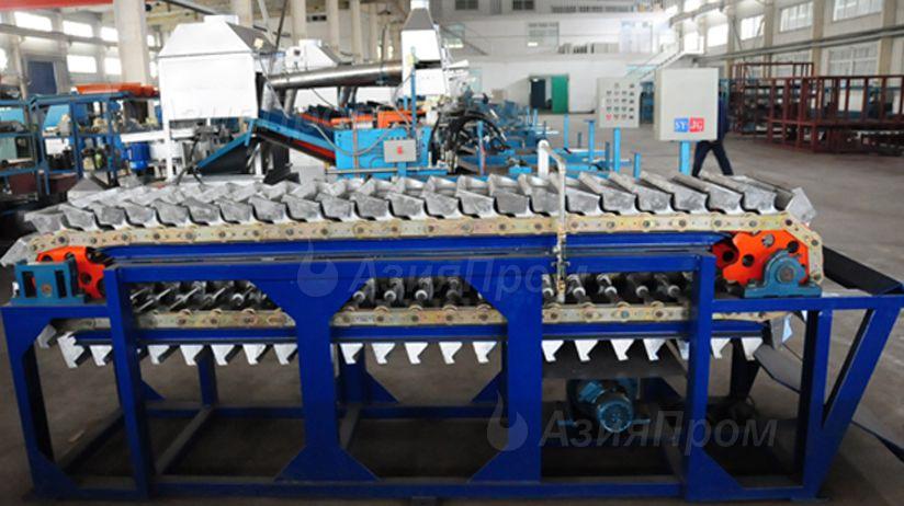 Конвейер разливки металла как снять блок комфорта транспортер т5