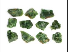 Опал зеленый в ассортименте, Казахстан (12-15 мм, 0,6-0,8 г) №22897