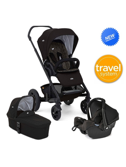 Joie Chrome DLX 3 в 1Gemm + Carrycot Travel System