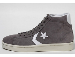 converse all star leather suede grey 01