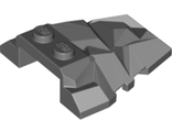 Wedge 4 x 4 Fractured Polygon Top with Light Bluish Gray Facets Pattern, Dark Bluish Gray (64867pb04 / 6268373)