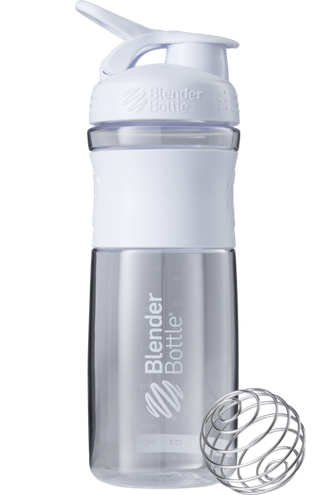 Blender Bottle® SportMixer 828 ml Clear white (Прозрачный белый)