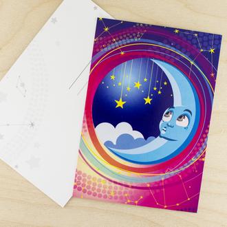 Сделать, почтовые открытки космос