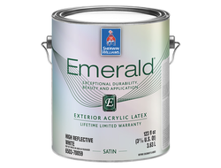 Sherwin-Williams Emerald Exterior Acrylic Latex Satin фасадная краска
