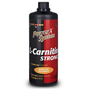 L-Carnitin Strong 1000 ml Power System
