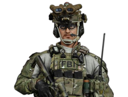 КОЛЛЕКЦИОННАЯ ФИГУРКА 1/6 Friday FBI Hostage Rescue Team (E&S 26014) - Easy&Simple (BLACKFRIDAY)