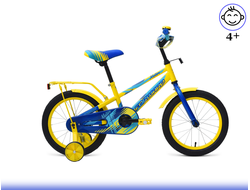 "FORWARD METEOR 16"" (Желтый/Синий) Kiddy-Bikes"