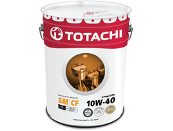 TotachiLong Life Semi-Synthetic SM/CF 10W-40, 20л