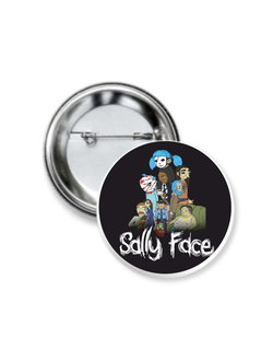 Значок Sally Face № 4