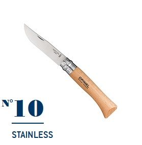 Нож Opinel №10 Stainless Steel