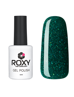 Гель-лак ROXY nail collection 284-Сверкающий клевер (10 ml)