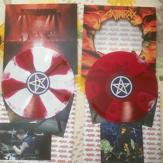 ANTHRAX Chile on hell 2-LP RED/WHITE LP