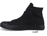 Кеды Converse All Star Monochrome Black M3310 высокие черные
