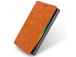 Чехол книжка Mofi Note 4 Brown