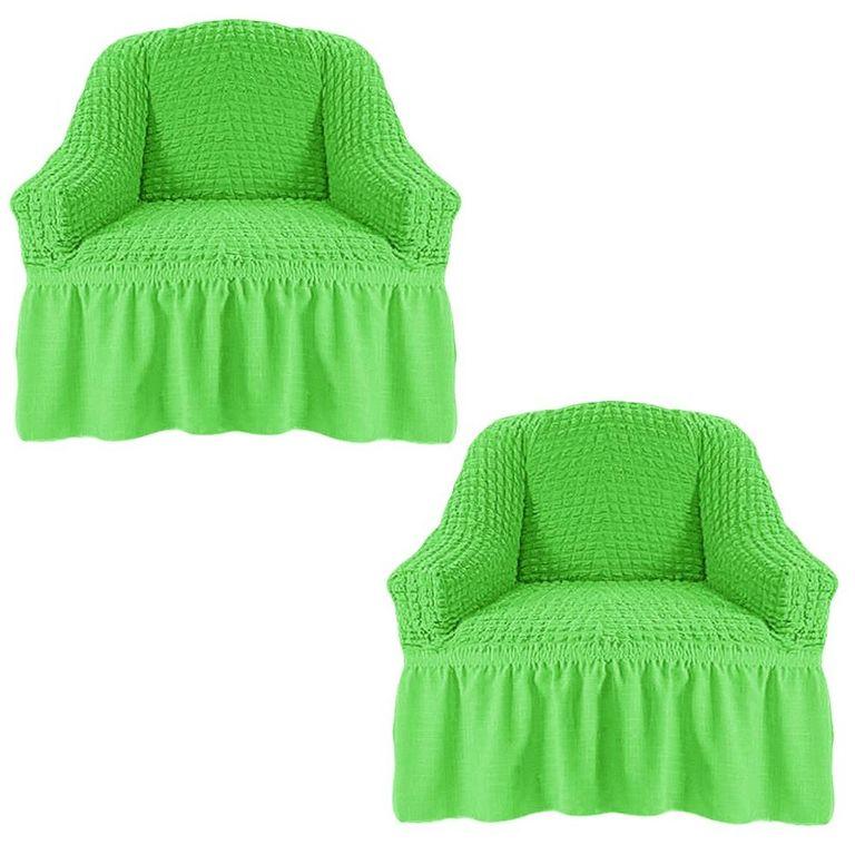 Чехлы на 2 кресла, Салатовый 224