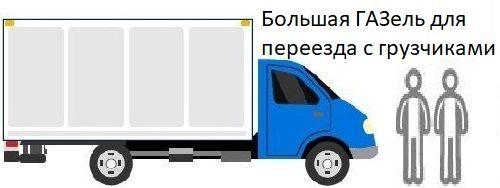 Грузоперевозки по Москве и Московской области ГАЗель с грузчиками