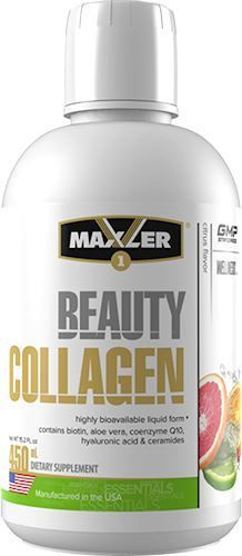 Maxler Beauty Collagen 450 мл (Цитрус)