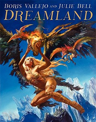 Boris Vallejo and Julie Bell Dreamland ИНОСТРАННЫЕ КНИГИ, Art Book