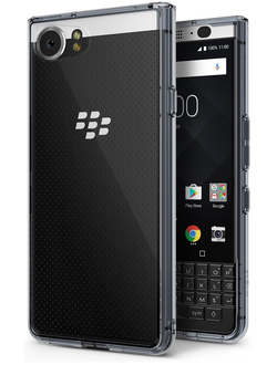 Чехол на BlackBerry KEYone, Ringke серия Fusion, цвет темный (Smoke Black)