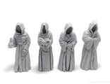 Monk statues