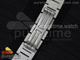 Ballon Bleu 28mm Ladies SS Silver Textured Dial on SSRG Bracelet
