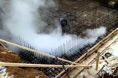 Парогенераторы для строительных работ