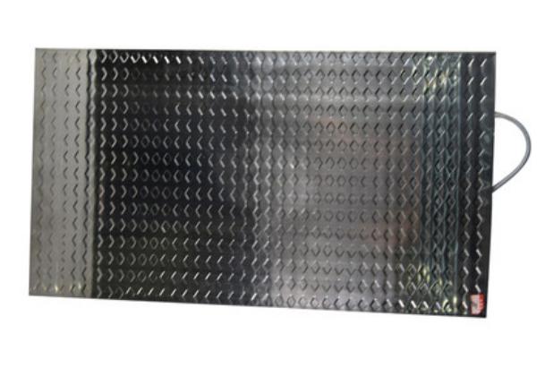 Электрический коврик (термоплита) 50*90 см., нерж.