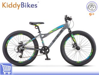 STELS ADRENALIN MD 24 (АНТРАЦИТОВЫЙ) Kiddy-bikes