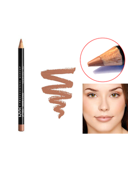 Карандаш для губ NYX Slim Lip Pencil 19 Soft Brown