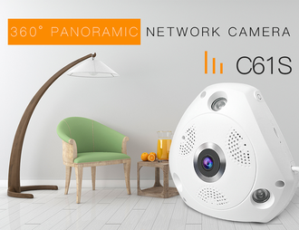 Панорамная WI-FI Smart IP-камера 3D-Panoramic 360° Vstarcam C61S (Photo-07)_gsmohrana.com.ua