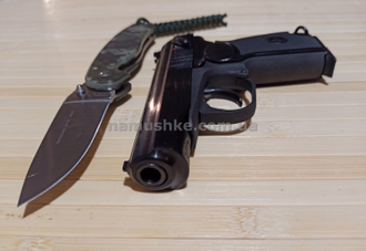Фото пистолета Макарова Baikal МР-658К (Blowback) https://namushke.com.ua/products/mp-658k
