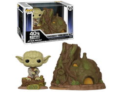 Купить Фигурку Funko POP! Vinyl: Town: Star Wars: Yoda's Hut 46765