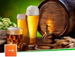 Разливное пиво, сидр и медовухи