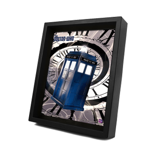 3D картина Doctor Who: Tardis Time Spiral Доктор Кто