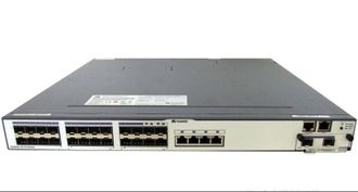 Коммутатор Huawei S5700-28C-SI Mainframe(20 GE RJ45,4 GE Combo,Dual Slots of power,Single Slot of Flexible Card,Without Flexible Card and Power Module), S5700-28C-SI