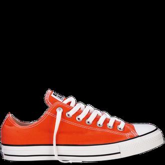 9c1a77db Оранжевые низкие кеды | Converse All Star Vibrant Orange - 148599F фото