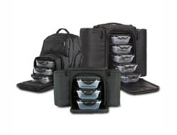 Сумка - холодильник с контейнерами 6 pack Fitness (six pack bags)