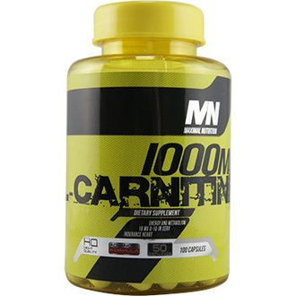 Maximal Nutrition L-Carnitine 1075 mg в капсулах 100 caps купить