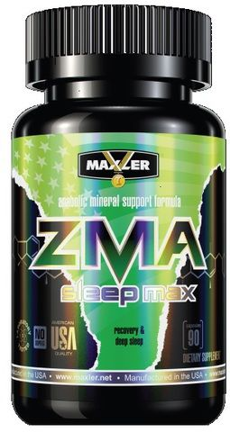 ZMA Sleep Max (Maxler) 90 caps