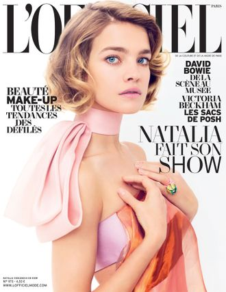 L'OFFICIEL PARIS Magazine March 2013 Natalia Vodianova Cover ЖЕНСКИЕ ИНОСТРАННЫЕ ЖУРНАЛЫ, INTPRESS