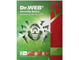 Dr.Web Security Space  на 36 мес. 2 лиц., КЗ (ESD) LHW-BK-36M-2-A3