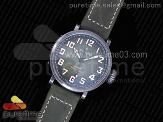 Pilot Type 20 Extra Special 40mm Aged SS Case Green